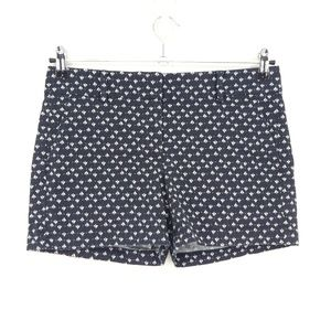 Ann Taylor Sailboat Print Blue City Shorts  (AA19)